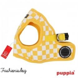 Harnais Puppia veste Grand Prix jaune