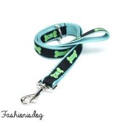 Laisse Woof House of Paws turquoise