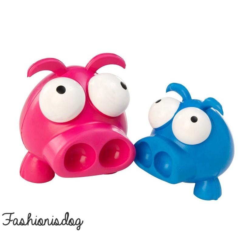 jouet pig rubber house of paws pour chiens. Black Bedroom Furniture Sets. Home Design Ideas